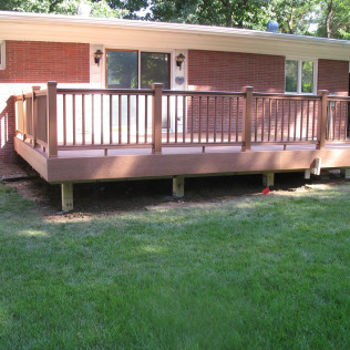 wooden deck installation lincoln ne