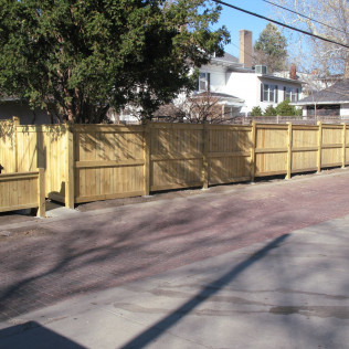 wooden fence installation lincoln ne